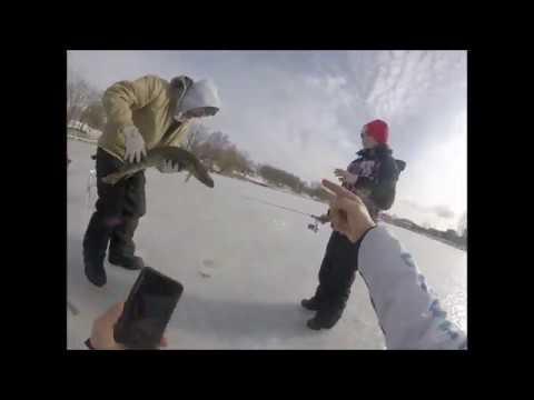 Ice Fishing 2020 Pike From Lake Ontario