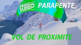 STEEP (FR) - GRAVIR LE MONT BLANC EN PARAPENTE | Une licorne volante OMG! | PC UHD 60FPS