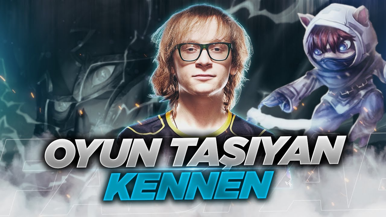 OYUN TAŞIYAN TOP LANE KENNEN! (Kennen vs Camille)