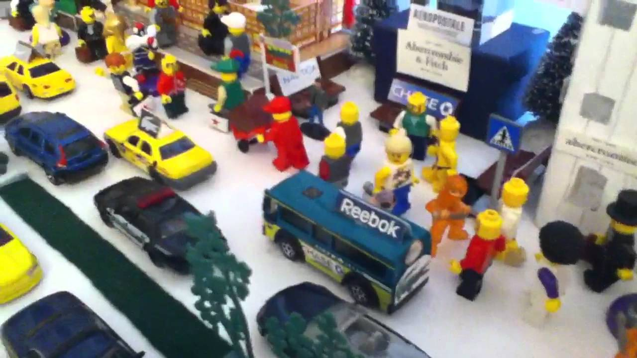 Pictures Of Toy Models Of Cities : Miniature toy city r c youtube