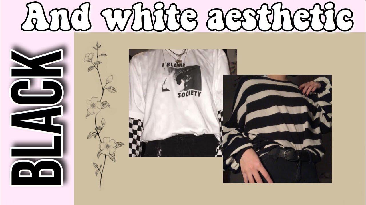 Black And White Aesthetic Flowerina Youtube