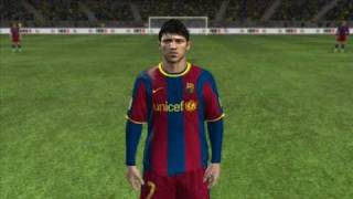 FIFA 11 (PC) -  Barcelona Players Faces