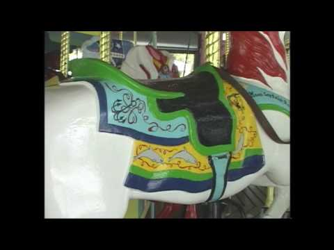 Key Biscayne Carousel Painting Teri Scott 2017 KB Historical Society
