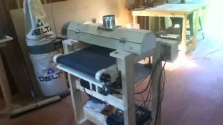 "Homemade 18"" Drum Sander"