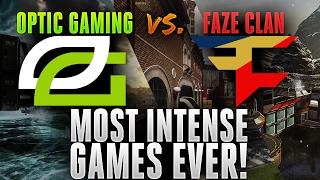 OpTic Gaming vs. FaZe Clan - Most Intense Games EVER