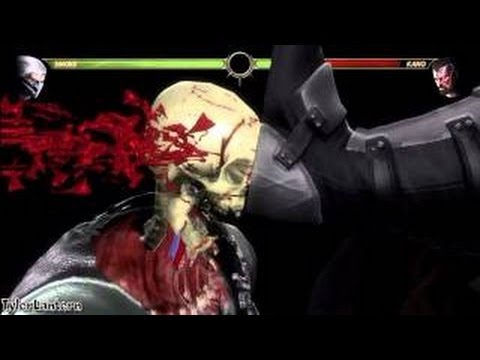Mortal Kombat 9 All - X RAY MOVES
