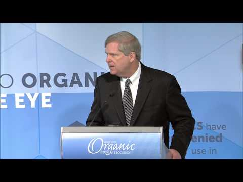Tom Vilsack, U.S. Secretary of Agriculture at OTA's 2015 Policy Conference