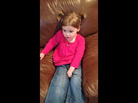 CC Cycle 3 - 3 year old recites US Presidents Classical Conversations