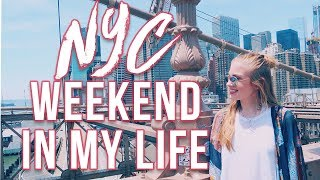 HOW TO DO NEW YORK CITY IN ONE WEEKEND (NYC Weekend In My Life) • Lottie Smalley