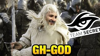 Gh-God [Keeper of the Light] Gandalf that kicked Secret TI7 Dota 2
