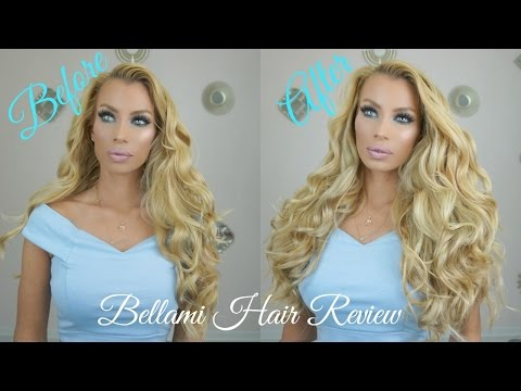 Bellami Hair Extentions Review Lilly Tutorial