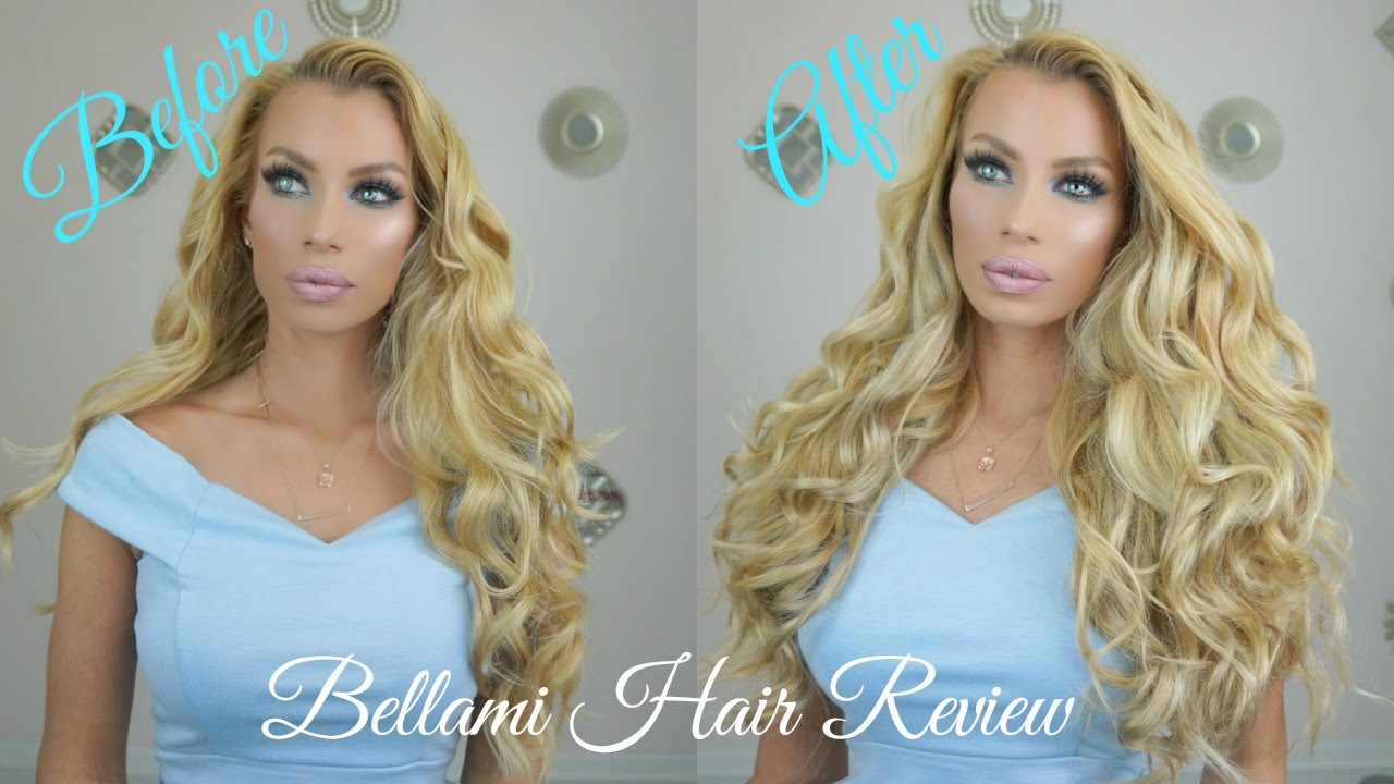 Bellami Hair Extentions Review Lilly Hair Tutorial Youtube