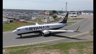 Amazing Jet Engine Sound Boeing 737 Airbus A320 Ryanair EasyJet WizzAir
