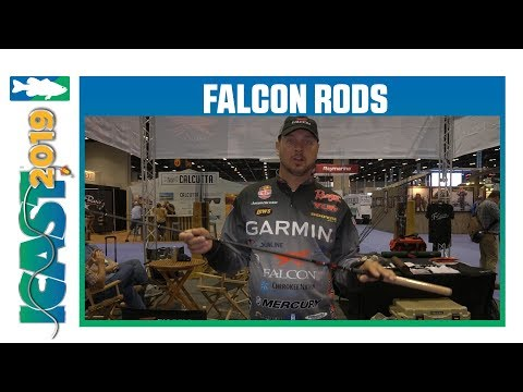New Falcon Rods Expert Rod Models With Jason Christie   ICast 2019