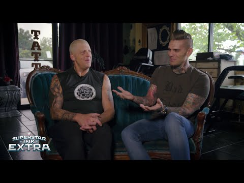 Goldust explains how to catch an armadillo: Superstar Ink Extra
