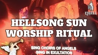 Carols 2016 - Hillsong Sun Worship Xmas Pagan Ritual Exposed (LDHEL#7) @Adam Cherrington