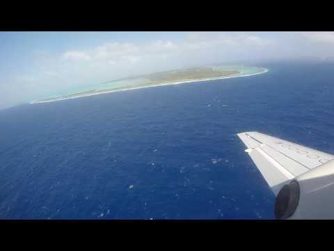 Air Rarotonga Flight: Rarotonga (RAR) - Aitutaki (AIT) Cook Islands GZ614 Saab 340