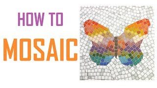 Tutorial! How To Tile Mosaic a Butterfly