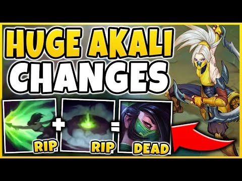WTF!? RIOT MURDERED AKALI WITH THESE CHANGES (TRIPLE NERF) LITERAL WTF?! - League of Legends