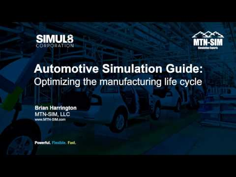 Automotive Simulation Guide: Optimizing the manufacturing life cycle