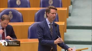 Opnieuw aanvaring Martin Bosma (PVV) - Kees Verhoeven (D66) 16-11-2017