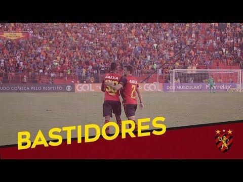 Bastidores de Sport 1x0 Paraná - Brasileiro 2018