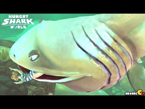 Biggest Mouth Shark Arctic Ocean Explore - Hungry Shark World