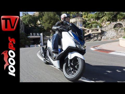 2015   Honda Forza 125 Test   Action & Fahreindrücke von der Côte d'Azur Foto