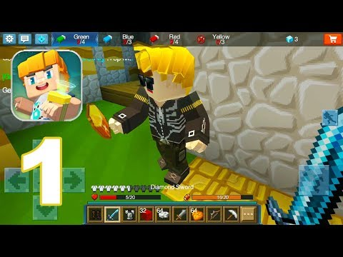 Blockman GO: Blocky Mods - Gameplay Walkthrough Part 1 (Android Games)