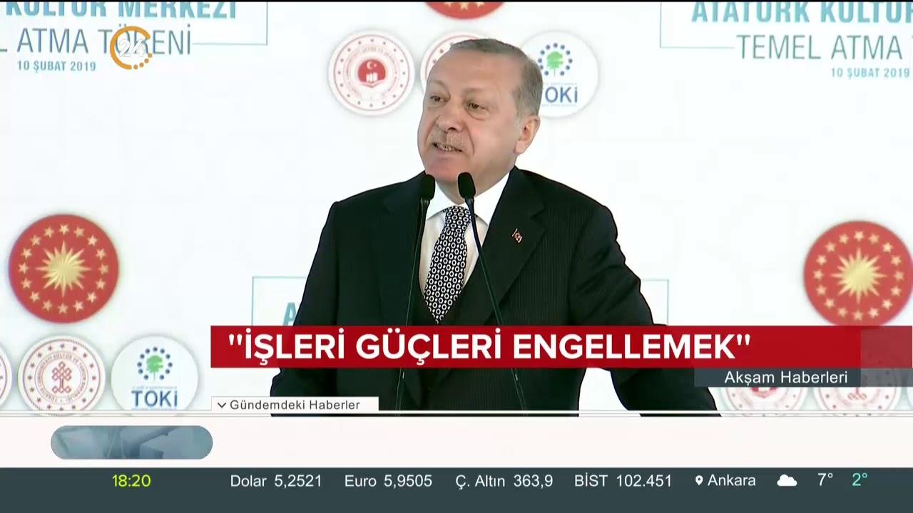 Jakoben: Başkan Erdoğan: AKM Yeniden Jakoben Zihniyete Karşı