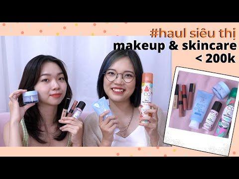 #BĐST Review các sản phẩm mới mua tại siêu thị GIÁ DƯỚI 200K (SENKA, MAYBELLINE,...)   Trang & Tiên