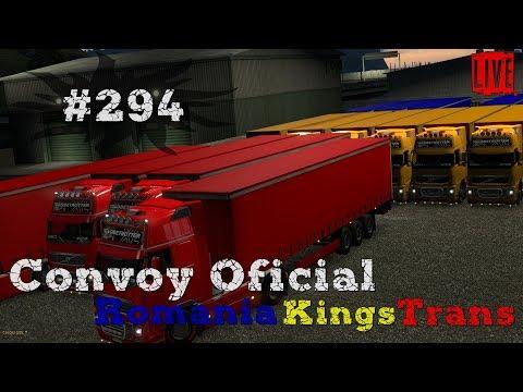 🔴 ETS 2 MP - Convoy Oficial cu Romania Kings Trans (INVITAT)[ LIVE #294 ]