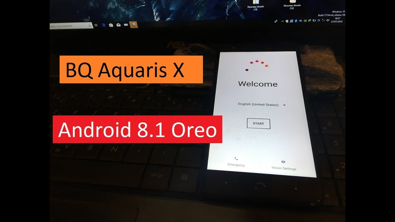 Remove FRP, Bypass Google Account BQ Aquaris X Android 8 1 Oreo LAST UPDATE  2018 by Zone GSM