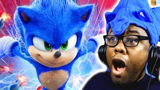 NEW SONIC MOVIE TRAILER & DESIGN! Sonic The Hedgehog Trailer 2 Reaction | Black Nerd
