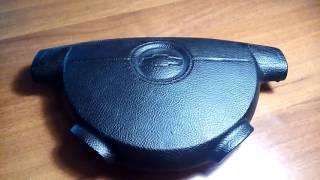 Восстановленная Крышка airbag.(Фреза обычная крышка руля. 1 канал установлено после выстрела подушки Airbag насквозь., 2016-04-13T09:30:17.000Z)