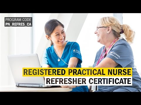 Registered Practical Nurse Refresher Certificate - Rachael Repoquit