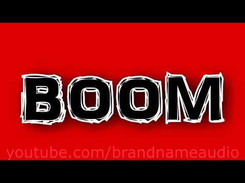 Boom Sound Effect