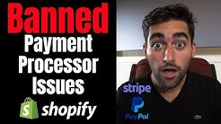 Payment Gateway Problems With Shopify Dropshipping | PayPal Vs Stripe Vs Others