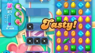Candy Crush Soda Saga Level 1143 - NO BOOSTERS