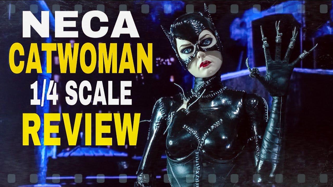 osw.zone on the Neca 1/4 scale Michelle Pfeiffer Batman Returns Catwoman figure. Like, c...