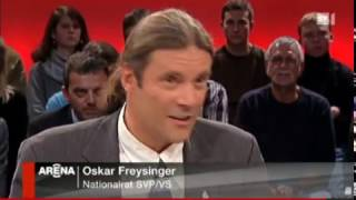 Oskar Freysinger/SVP zum Schweizer Minarettverbot