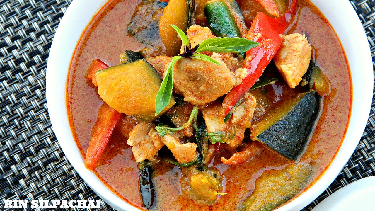 Thai Red Curry With Kabocha Squash Recipes — Dishmaps