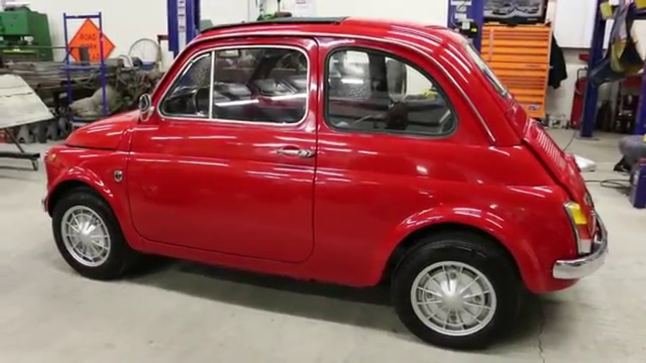 1967 fiat 500 for sale 650 motor 4 speed fantastic condition youtube. Black Bedroom Furniture Sets. Home Design Ideas