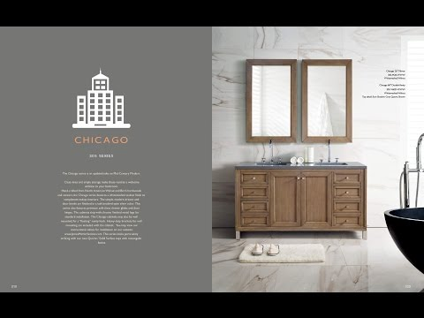 Chicago Collection Bathroom Vanity by James Martin Vanities