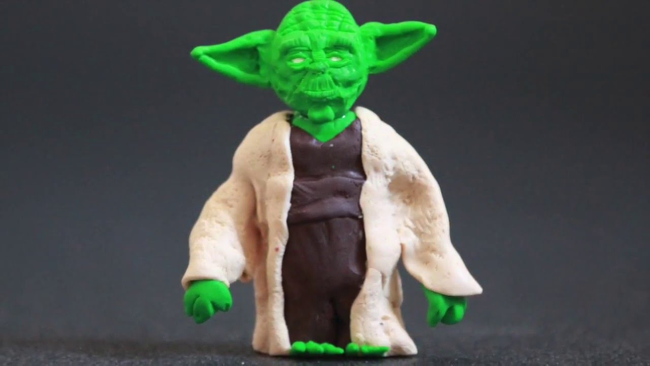 ma tre yoda yoda p te polym re polymer clay tuto fimo. Black Bedroom Furniture Sets. Home Design Ideas