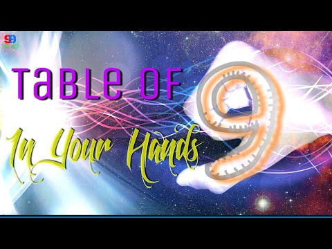 Table Of 9 In Your Hands (Special Mathematics Trick)