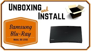 Samsung Blu-Ray Player Unboxing Review BD-J5100