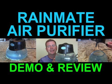 Best House Air Freshener Ever Rainbow Rainmate Il Demo Review Scented Air Essential Oils Youtube
