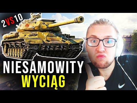 NIESAMOWITY WYCIĄG - 2 VS 10 - World of Tanks thumbnail