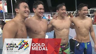 Swimming Men's 4x100m medley relay - Final | Gold Medal | 29th SEA Games 2017